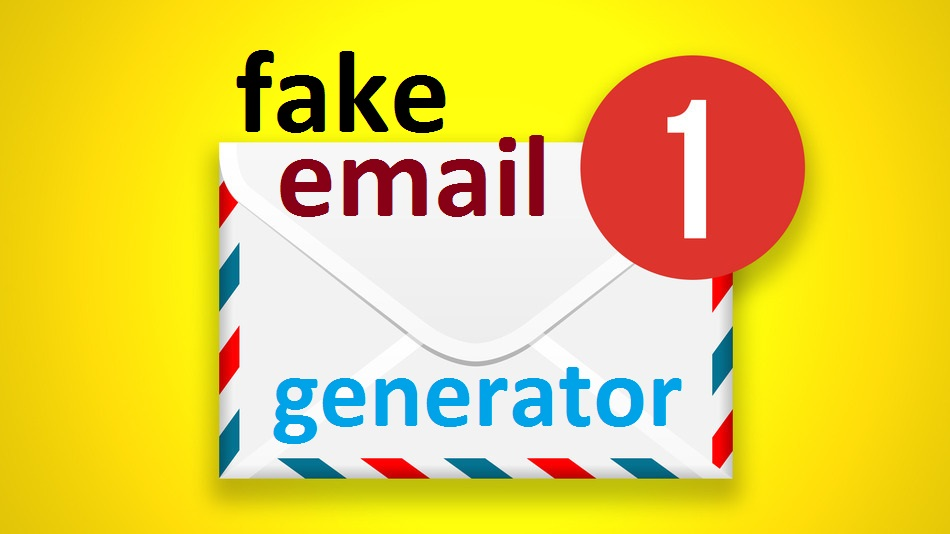 Fake Email Generator - fake email address